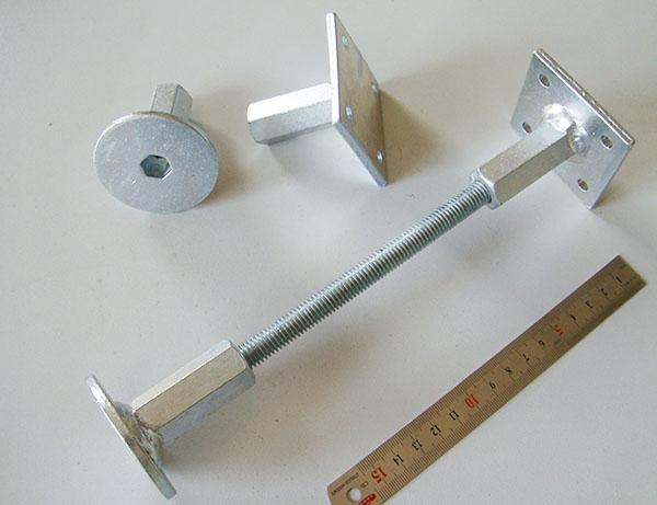 木屋連接件升降調節螺桿